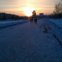 Photo taken at Автобус № 8 by Juli M. on 2/25/2013