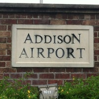 Photo taken at Addison Airport (ADS) by Troy B. on 9/16/2012