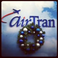 Photo taken at AirTran Airways Ticket Counter by Troy B. on 12/10/2012