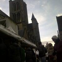 Photo taken at Goudenleeuwplein by Aurore L. on 3/23/2014