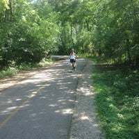 Photo taken at Caldwell Woods Bicycle Trail (North Branch Trail) by Andy S. on 8/3/2013