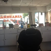 Photo taken at Barbearia BKMF by Mario R. on 3/31/2013