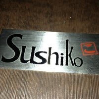 Photo taken at Sushiko Japanese Grill by Jessica D. on 2/25/2013