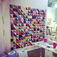 Photo taken at CityCraft Modern Fabric & Fiber by Callie W. on 3/2/2014