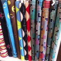 Photo taken at CityCraft Modern Fabric & Fiber by Callie W. on 4/14/2013