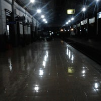 Photo taken at Stasiun Solo Jebres by Kimi Fajri R. on 2/28/2013