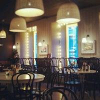 Снимок сделан в Any.pasta.pizza.bar пользователем Julya K. 3/4/2013