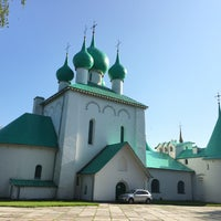 Photo taken at Храм преподобного Сергия Радонежского (Куликово поле) by Inna B. on 6/1/2016