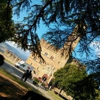 Photo taken at Castello di Poppi by Fabio N. on 7/7/2013