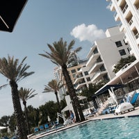 Photo taken at Poolside@ Miami Mariott by Juraj S. on 7/31/2015