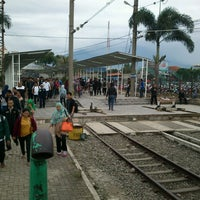 Photo taken at Stasiun Bogor by Risma P. on 6/3/2013