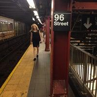 Photo taken at MTA Subway - 96th St (1/2/3) by Elizaveta K. on 7/2/2013