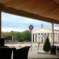 "Photo taken at Ресторан ""Белгород"" by Maria L. on 5/2/2014"