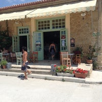 Photo taken at Απλό Bistro by Greg D. on 7/17/2014
