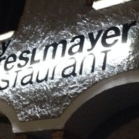 Photo taken at by Preslmayer Restaurant by Rosemarie S. on 8/27/2014