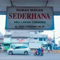 """Photo taken at Rumah Makan Laksa Cibinong """"Sederhana"""" by Katarina Y. on 2/23/2018"""