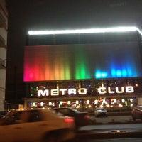 Photo taken at Метро / Metro Club by Андрей С. on 4/14/2013