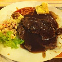 Photo taken at Polperro Fish & Steak by Hafiz W. on 4/8/2013