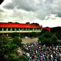 Photo taken at SMAN 10 Bekasi by Nabila F. on 2/22/2013