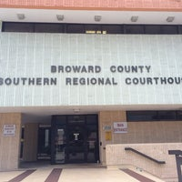 Photo taken at Broward County Southern Regional Courthouse by Elena on 8/1/2014