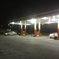 Photo taken at metro Gas Station by Jeff P. on 1/23/2013