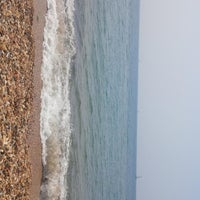 Photo taken at Hordle Cliff West by Andy M. on 7/21/2013