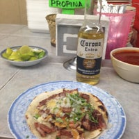 "Photo taken at Taqueria ""Nelly"" by Bel P. on 5/28/2014"