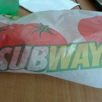 Photo taken at Subway by Alejandro on 2/9/2014