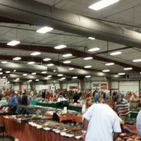Photo taken at Conway Expo Center by Sara W. on 10/25/2014