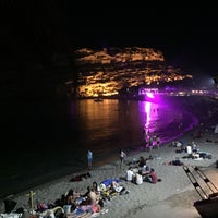 Photo taken at Matala by Vangelis K. on 6/19/2016