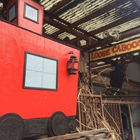 Photo taken at Loose Caboose Cafe by Paul R. on 3/29/2014