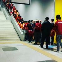 Photo taken at Başakşehir  Metrokent by Rabia T. on 10/3/2015