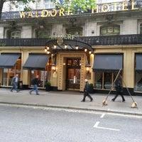 Photo taken at The Waldorf Hilton by Nick F. on 6/13/2013