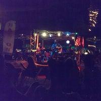 Photo taken at Balkon Cafe Beach by Merve S. on 7/28/2015