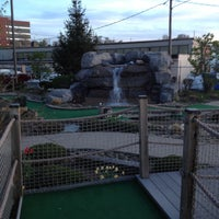 Photo taken at Harbor View Mini Golf by Teresa S. on 5/3/2013