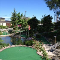 Photo taken at Harbor View Mini Golf by Teresa S. on 5/26/2013