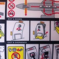 Photo taken at Ryanair Flight  FR9275 [STN - EIN] by Marc B. on 3/24/2014