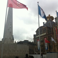 Photo taken at Dam Square by Marc B. on 4/26/2013