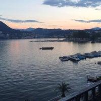 Photo taken at Hotel Lido Seegarten Lugano by wafa on 8/14/2016