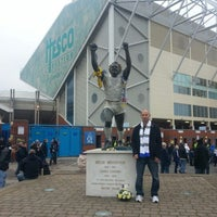 Photo taken at Elland Road by Peter G. on 11/24/2012