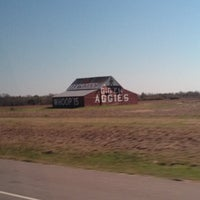 Photo taken at Gig 'Em Aggies Barn by Bea C. on 3/12/2013