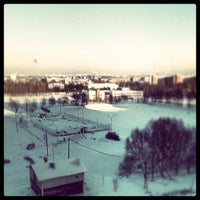Photo taken at Общежитие БГМУ № 10 by Artificial I. on 1/19/2014