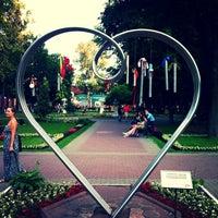 Снимок сделан в Сад «Эрмитаж» пользователем 💫Anna E. 6/24/2013