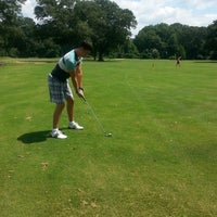 Photo taken at Bobby Jones Golf Course by Carly O. on 7/13/2014
