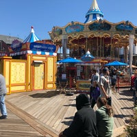 Photo taken at The Carousel at Pier 39 by Chris K. on 9/22/2018