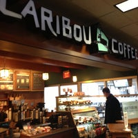 Photo taken at Caribou Coffee by Lucie P. on 4/12/2013