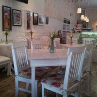Photo taken at Café des Fleurs by Renata V. on 12/8/2012