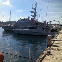 Photo taken at Porto di Santa Teresa di Gallura by Pavel K. on 5/8/2013