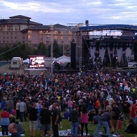 Photo taken at Soaring Eagle Outdoor Concert Venue by Martha S. on 6/30/2013