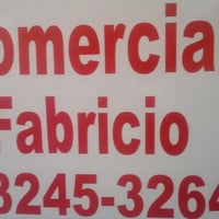 Photo taken at comercial fabrício by Wagner F. on 3/1/2013